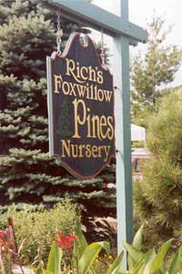 Rich's Foxwillow Pines Nursery